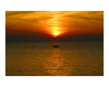 Lake Erie Sunset Photographic Print by TJ Irwin