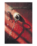 Red door, Jokhang Temple, Lhasa, Tibet Photographic Print by Jamie Williams