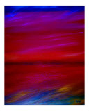 Abstract Day Giclee Print by Kenny Primmer
