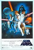 Hvězdné války / Star Wars (filmový plakát vangličtině) Fotografie