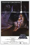 Hvězdné války / Star Wars (filmový plakát vangličtině) Plakát