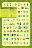 Bantu Symbols Poster