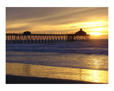 Imperial Beach Pier San Diego CA 2 Photographic Print by josh hollister