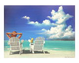 Watching Clouds Giclee Print by Susi Galloway