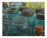 Old Mason Jars Photographic Print by James Davidson