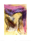 Nude Woman on her Back with Legs Apart Prints by Auguste Rodin