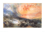 Golden Meadow, c.1843 Prints by William Turner