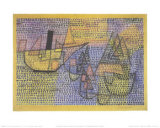 Steamboat and Sailing Boats, c.1931 Plakater af Paul Klee