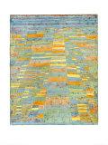 Strada principale e strade secondarie, circa 1929 Stampa di Paul Klee