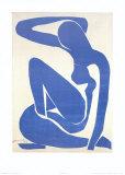 Blue Nude I, c.1952 Affiche par Henri Matisse