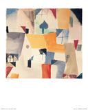 Window, c.1919 Kunst af Paul Klee