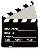 Film Clapper Silhouette en carton