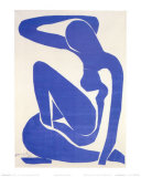 Blue Nude I, c.1952 Prints by Henri Matisse