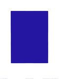 Untitled, Blue Monochrome, c.1961 (IKB73) セリグラフ : イヴ・クライン