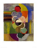 Ritmo sin fin, c.1930 Lámina por Robert Delaunay