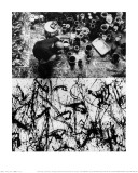 Jackson Pollock Painting No. 32, Springs, Long Island, New York, c.1950 Posters par Rudy Burckhardt