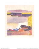 Class Harbor, c.1914 Plakater af Paul Klee