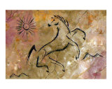 Cave of the Happy Dancing Horse Giclee Print by Su Omynona