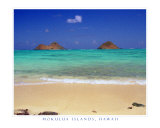 Mokulua Islands, Hawaii Photographic Print by CJ Villa