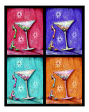 Four Martinis Photographic Print by Liza Phoenix