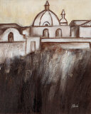 Old Cartagena II Poster by Patricia Quintero-Pinto