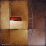 Chocolate Square III Art by Lanie Loreth