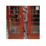 Cabina telefnica, Londres, 1963 Pster por Norman Parkinson