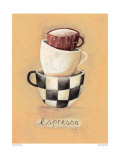 Cafe Espresso Prints by Nicola Evans
