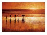 Camel Crossing Affiches par Jonathan Sanders