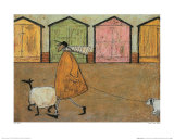 Along the Promenade Posters by Sam Toft