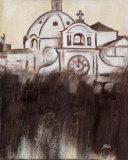 Old Cartagena IV Print by Patricia Quintero-Pinto