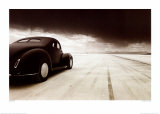 1940 Coupe at Takeoff Poster by David Perry
