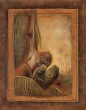 Orangutan I Print by Patricia Quintero-Pinto