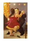 Bailarina Láminas por Fernando Botero