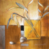 Afternoon Bamboo Leaves III Prints by Lanie Loreth