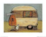 Ein Zuhause in der Ferne Kunstdruck von Sam Toft