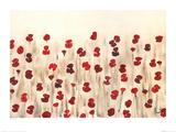 Poppy Profusion Affiche par Simon Fairless