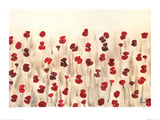 Poppy Profusion Poster por Simon Fairless