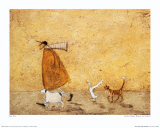 Ernest, Doris, Horace and Stripes Posters af Sam Toft