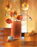 Afternoon Poppy Still Life I Posters by Lanie Loreth