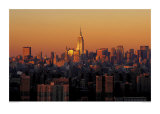 Manhattan Dusk Prints by Richard Berenholtz