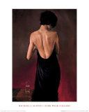The Black Drape Posters by Michael J. Austin