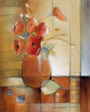 Afternoon Poppies Print by Lanie Loreth