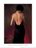 The Black Drape Print by Michael J. Austin