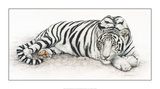 Siberian Tiger Art by Jan Henderson