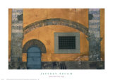 Yellow Wall, Pisa, Italy Posters by Jeffrey Becom