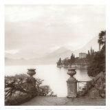 Alan Blaustein - Villa Monastero, Lago di Como Plakát