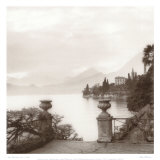 Villa Monastero, Lago di Como Art by Alan Blaustein