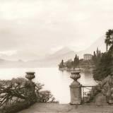 Villa Monastero, Lago di Como Art by Alan Blaustein
