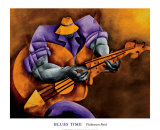 Blues Time Posters by Philemon Reid